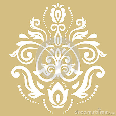 Oriental Abstract Vector Pattern Vector Illustration