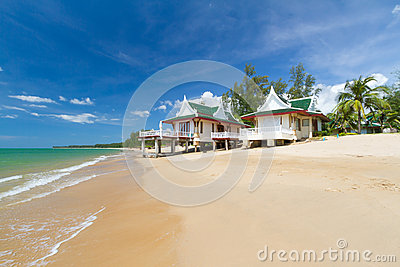 Oriental architecture holiday houses