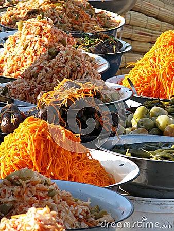 Oriental bazaar foods - corean marinades