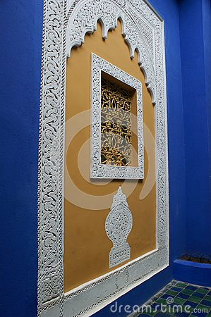 Oriental Blue Wall, Marrakech