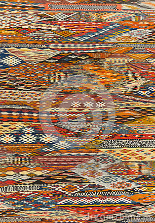 Free Oriental Carpet Background Texture Royalty Free Stock Photo - 53121815