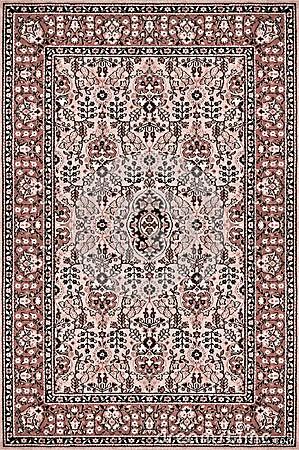Free Oriental Carpet Texture Royalty Free Stock Image - 45509026