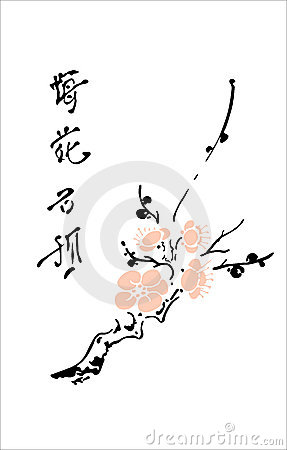 Free Oriental Cherry Stock Photo - 3734280