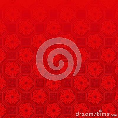 Free Oriental Chinese New Year Seamless Pattern Stock Image - 22642421