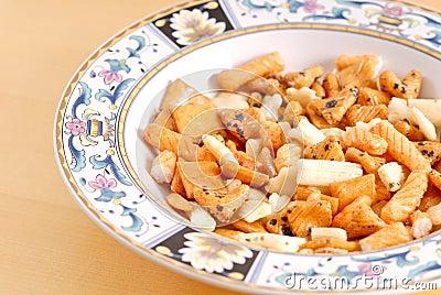 Oriental Cracker Snacks