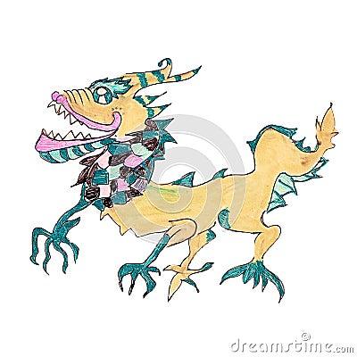 Free Oriental Dragon Stock Image - 21923451