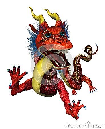Free Oriental Dragon Portrait Royalty Free Stock Image - 188736