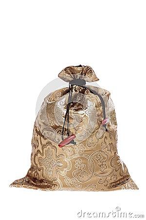 Oriental  Drawstring Bag