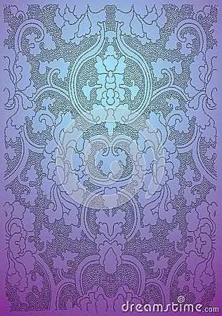 Free Oriental Flower Wallpaper Stock Image - 8409661