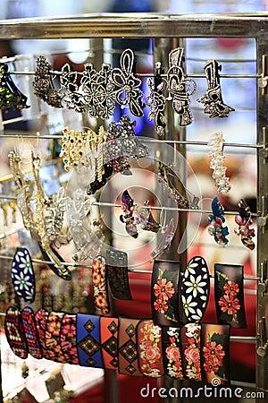 Oriental & Indian Handmade Hair Clips for Sale