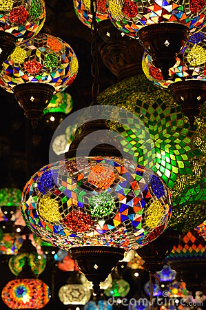 Oriental lamps, Camden Lock Market