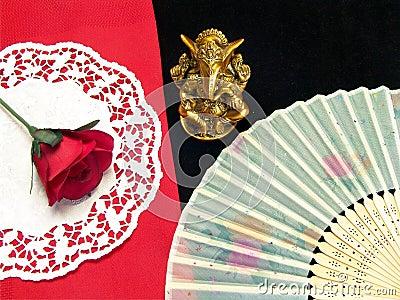 Oriental lord ganesha