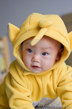 Oriental lovely baby