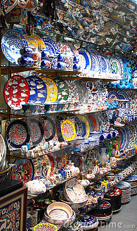 Free Oriental Market In Istanbul Royalty Free Stock Images - 1577819