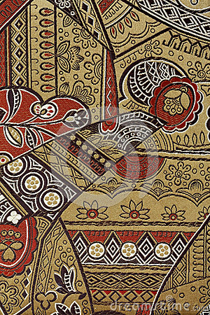 Free Oriental Silk Fabric Pattern Stock Photos - 26507713