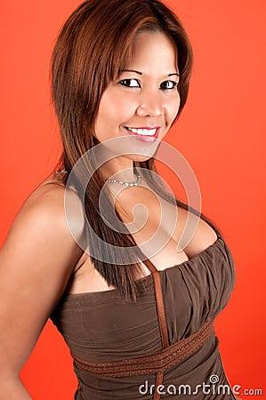 Free Oriental Smile Stock Photos - 9518353