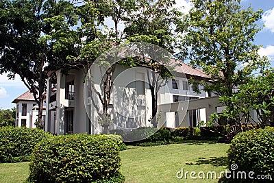 Oriental Style Modern House