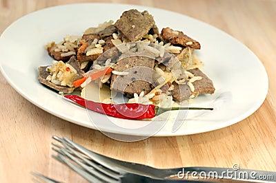 Oriental style rice