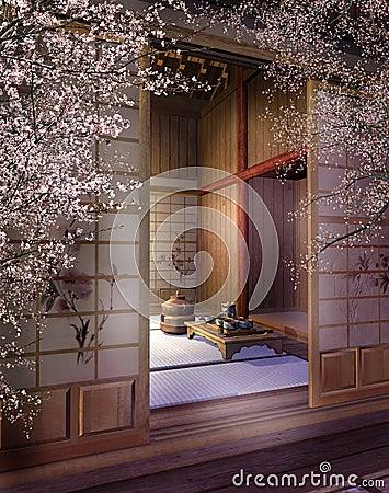 Oriental teahouse 3