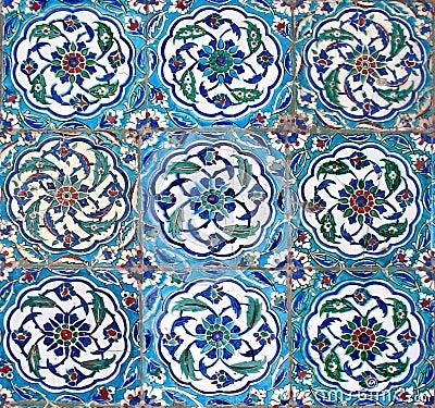 Oriental tiles foto spiderpic royalty vrije stock foto 39 s - Oosterse tegels ...