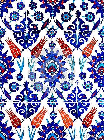 Free Oriental Tiles Stock Image - 1835221