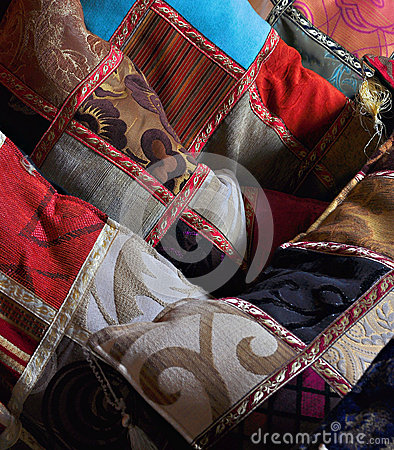 orientalische kissen stockfotografie bild 30382932. Black Bedroom Furniture Sets. Home Design Ideas