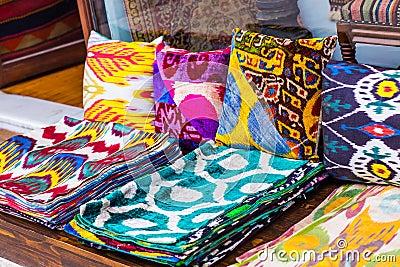 orientalische kissen stockfoto bild 56974921. Black Bedroom Furniture Sets. Home Design Ideas