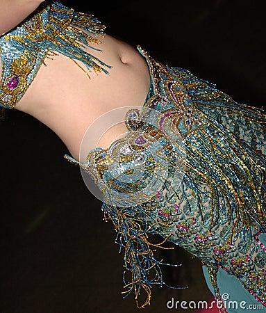 Orientalischer Tänzer