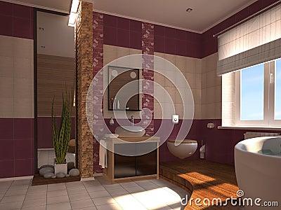 orientalisches badezimmer lizenzfreies stockfoto bild