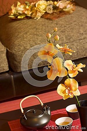 Orientalisches Wohnzimmer Stockfotos - Bild: 13761973