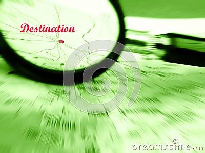 Orientation sur la destination