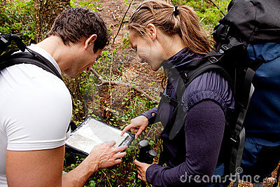 Orienteering Couple