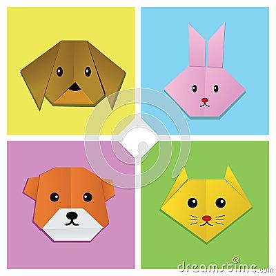 Origami Animal Head 1