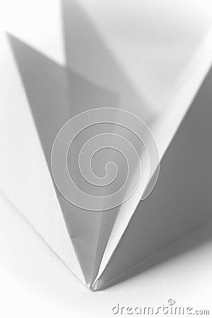 Origami - avião de papel