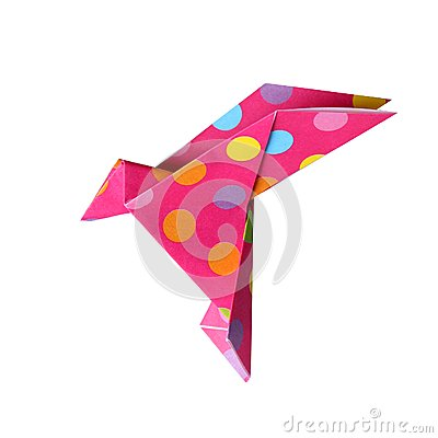 Free Origami Bird Royalty Free Stock Photos - 41266998