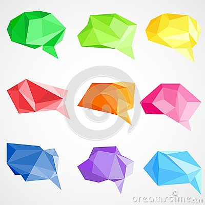 Origami Chat Bubble