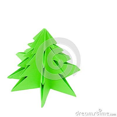 Origami Christmas tree,