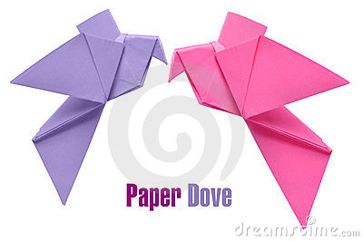 Origami doves