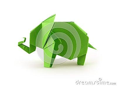 origami elefant lizenzfreie stockfotografie bild 27696397. Black Bedroom Furniture Sets. Home Design Ideas