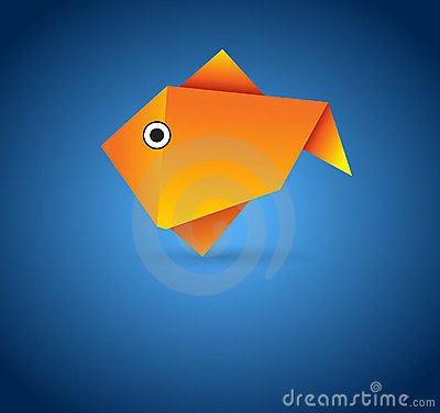 Free Pattern and Directions for Money Origami Fish