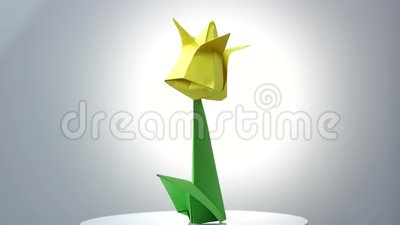 Origami flowers over white background stock footage video of origami flowers over white background stock footage video of complex exposition 123022596 mightylinksfo