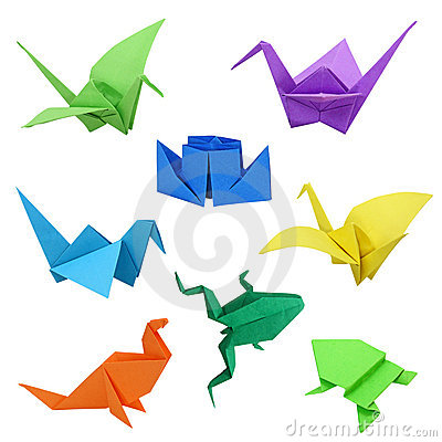 Free Origami Images Royalty Free Stock Photography - 4908747