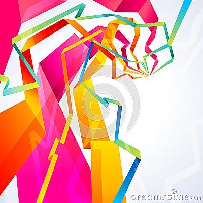 Origami lines