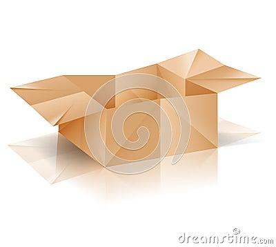 Origami paper box