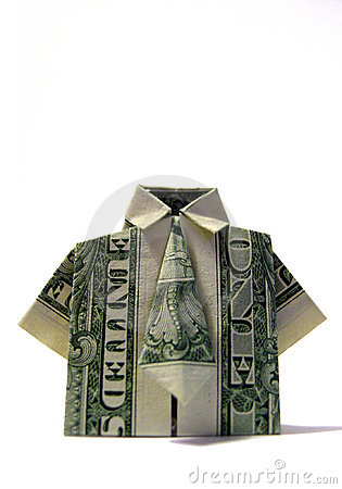 Free Origami Shirt/Tie Stock Images - 83584