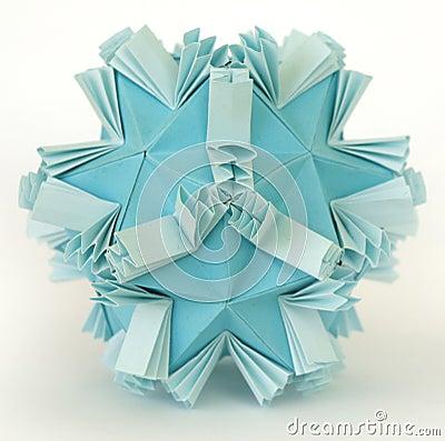 Origami snow