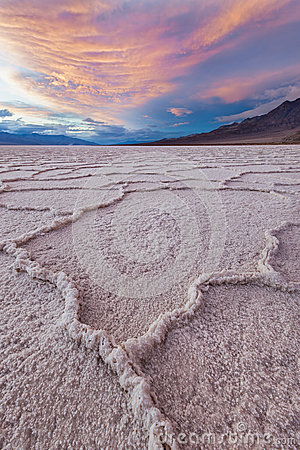 Free Origin, Badwater, Death Valley NP Stock Photos - 25540323