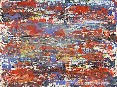 Original Abstract Oil Painting by Brad Rickerby