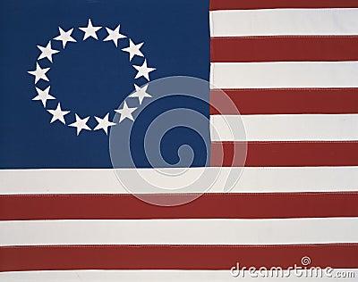 Original colonial flag