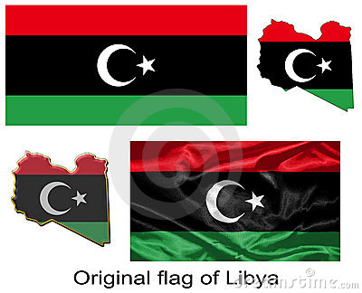 Original flag of Libya